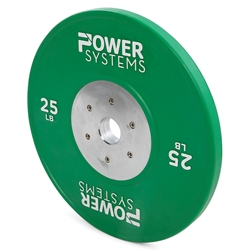 https://www.power-systems.com - Training Plate Olympic Colors 35 lbs