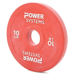 https://www.power-systems.com - Training Plate Olympic Colors Change Plate  2.5 lbs