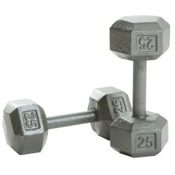 Solid Hex Dumbbell