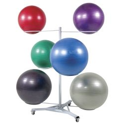 Premium Stability Ball Tree 12 Ball Rack - ON SALE