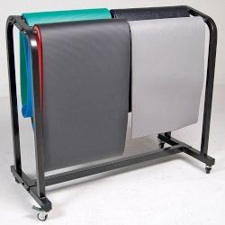 Mat Storage Cart