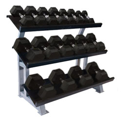 INOpets.com Anything for Pets Parents & Their Pets Pro Maxima FW-233 3-Tier Dumbbell Rack