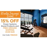 Winter Sale on Fitness Equipment