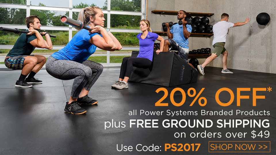 20% Off of Power Systems products and FREE GROUND SHIPPING on orders over $49
