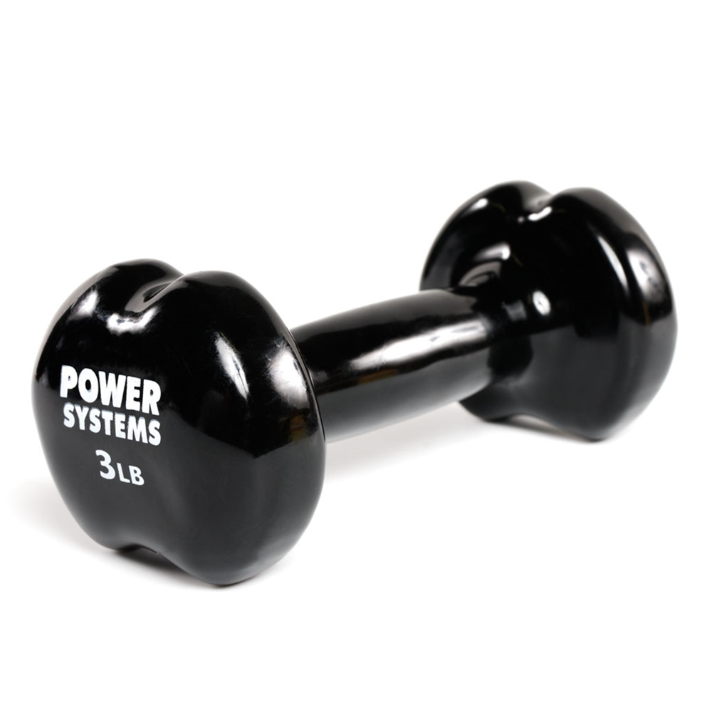 Apple Vinyl Dumbbell-3 lbs