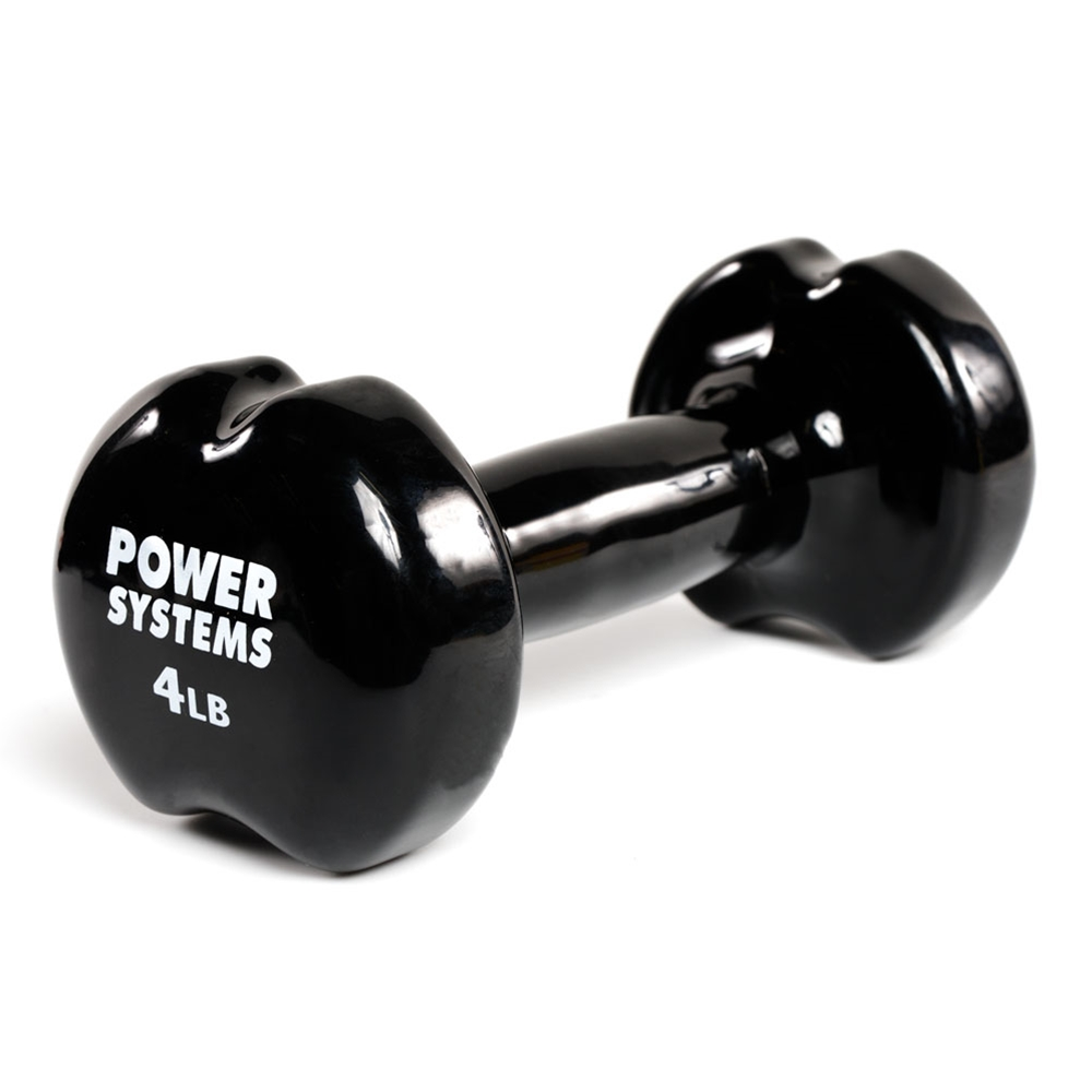Apple Vinyl Dumbbell-4 lbs