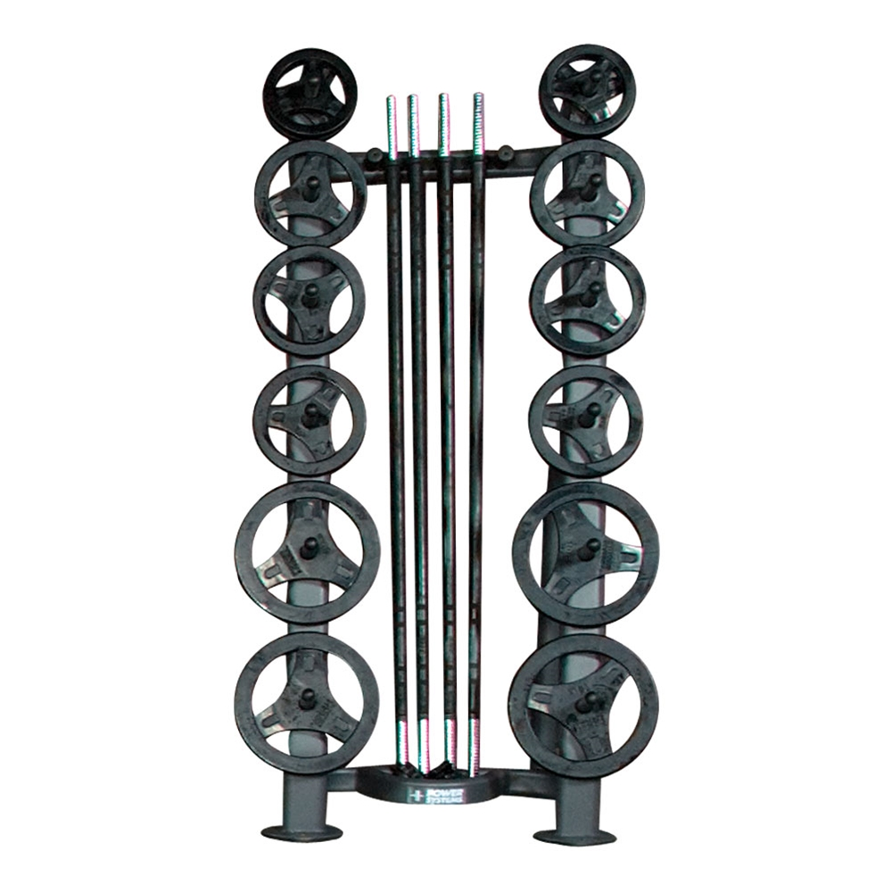 Deluxe CardioBarbell Rack-10 Sets and Storage Rack