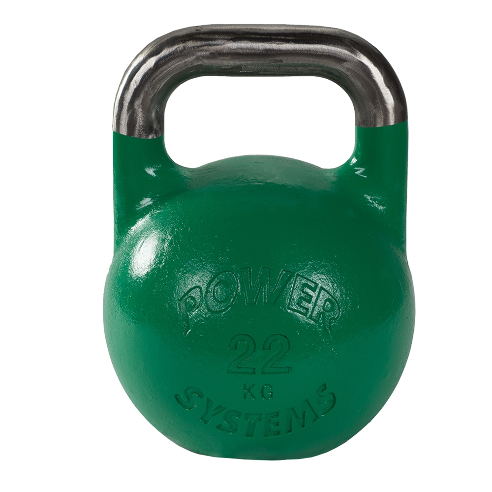 Competition Kettlebell 22kg (Light Green)