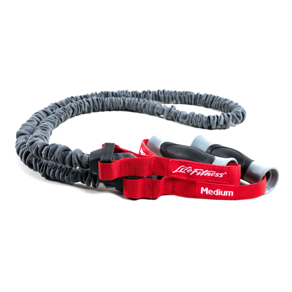 Life Fitness Covered Resistance Tube-Medium