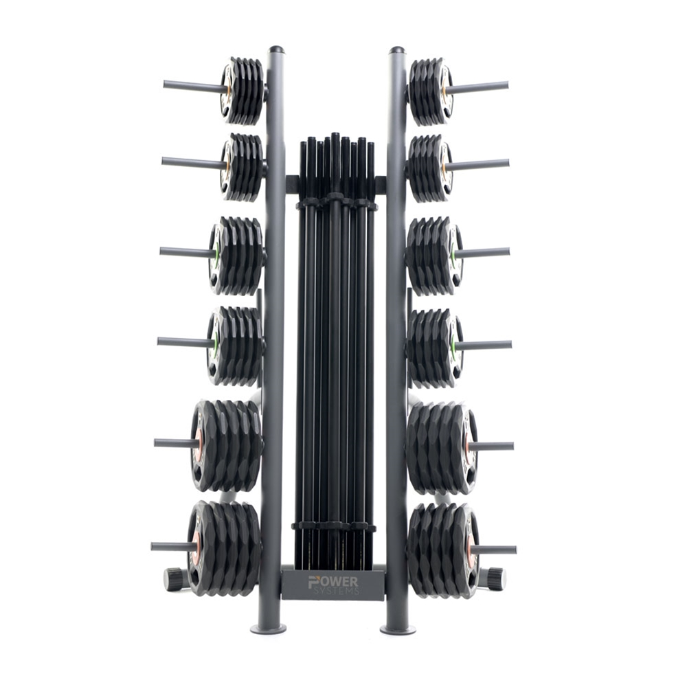 ProElite Pump Sets w/ Lock-Jaw Collars and Racks-10 Set w/ Rack