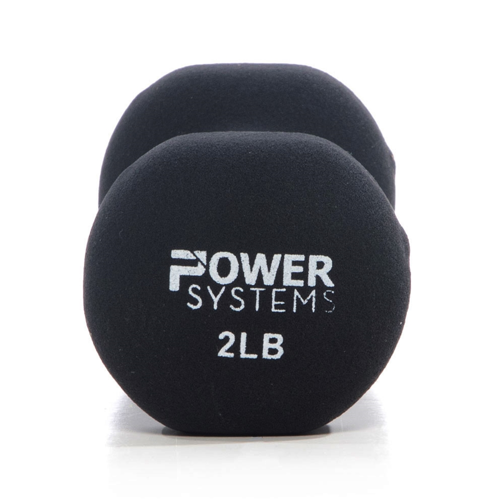 Premium Neoprene Dumbbell Black-2 lbs