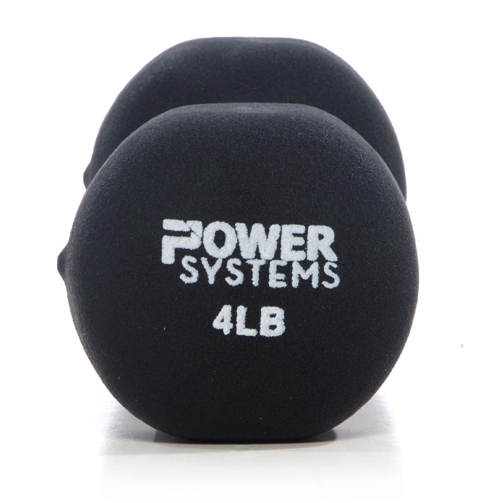 Premium Neoprene Dumbbell Black-4 lbs