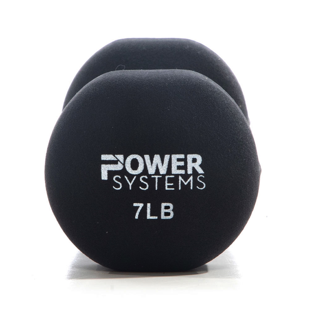 Premium Neoprene Dumbbell Black-7 lbs