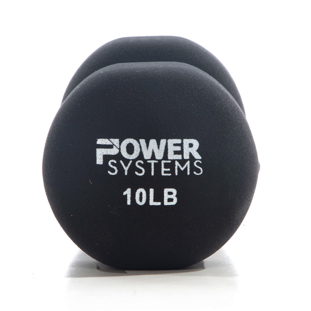 Premium Neoprene Dumbbell Black-10 lbs