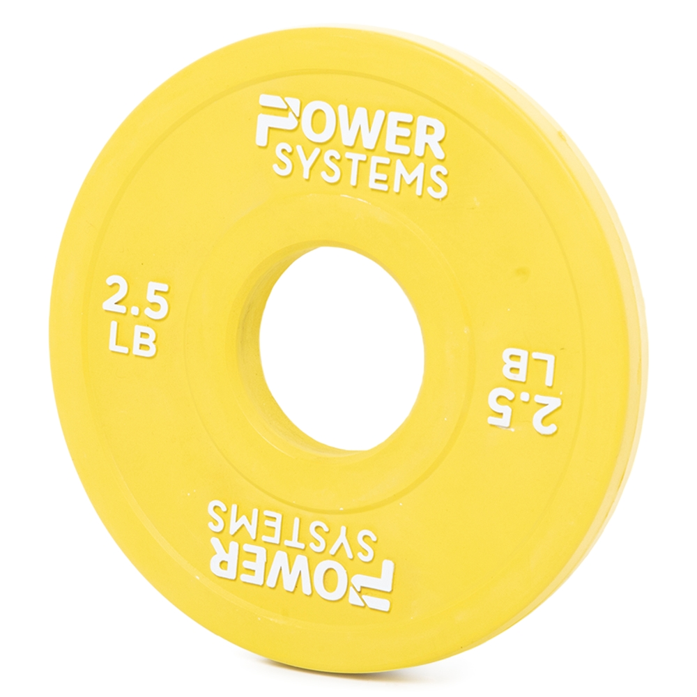 Training Plate Olympic Colors- 2.5 lbs