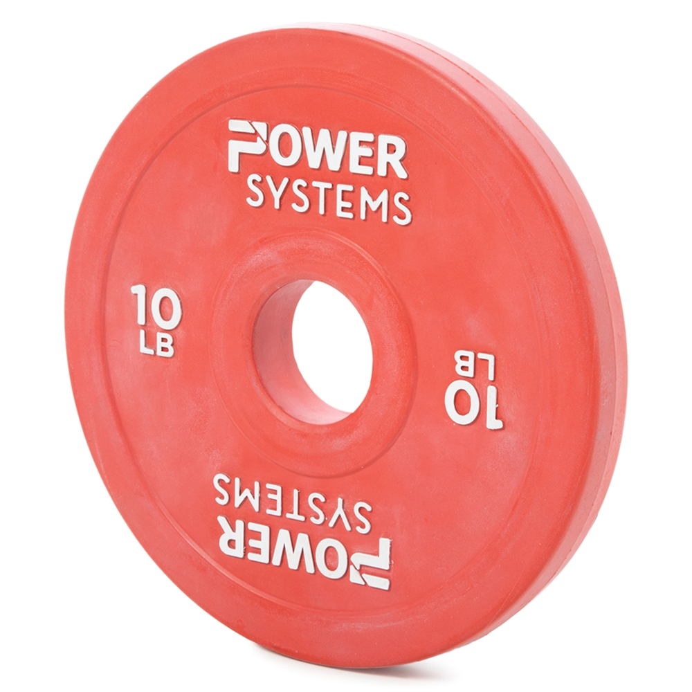Training Plate Olympic Colors-10 lbs