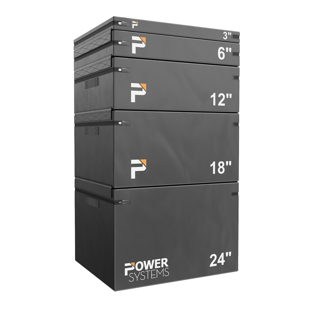 Power Systems Foam Plyo Box-Set of 5