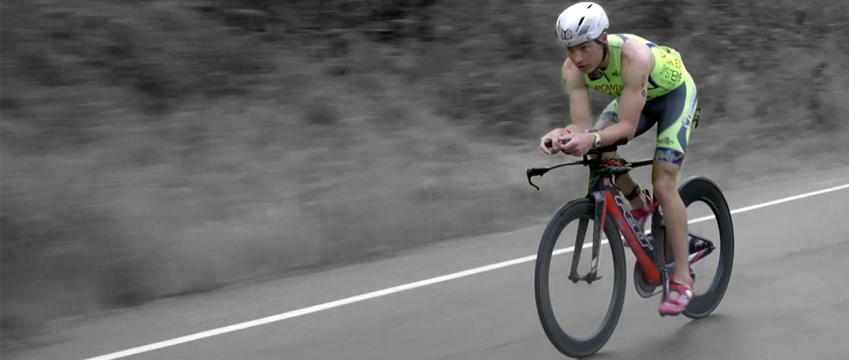 Pro Triathlete Andy Drobeck - Sponsored by Power Systems
